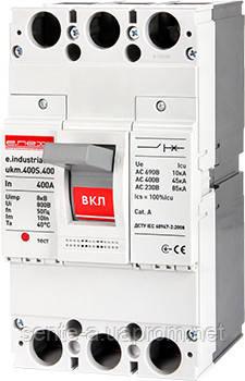 Шкафной автоматический выключатель e.industrial.ukm.400S.400, 3р, 400А