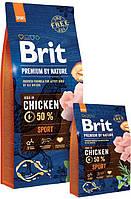 Сухой корм Brit Premium Dog Sport 15кг