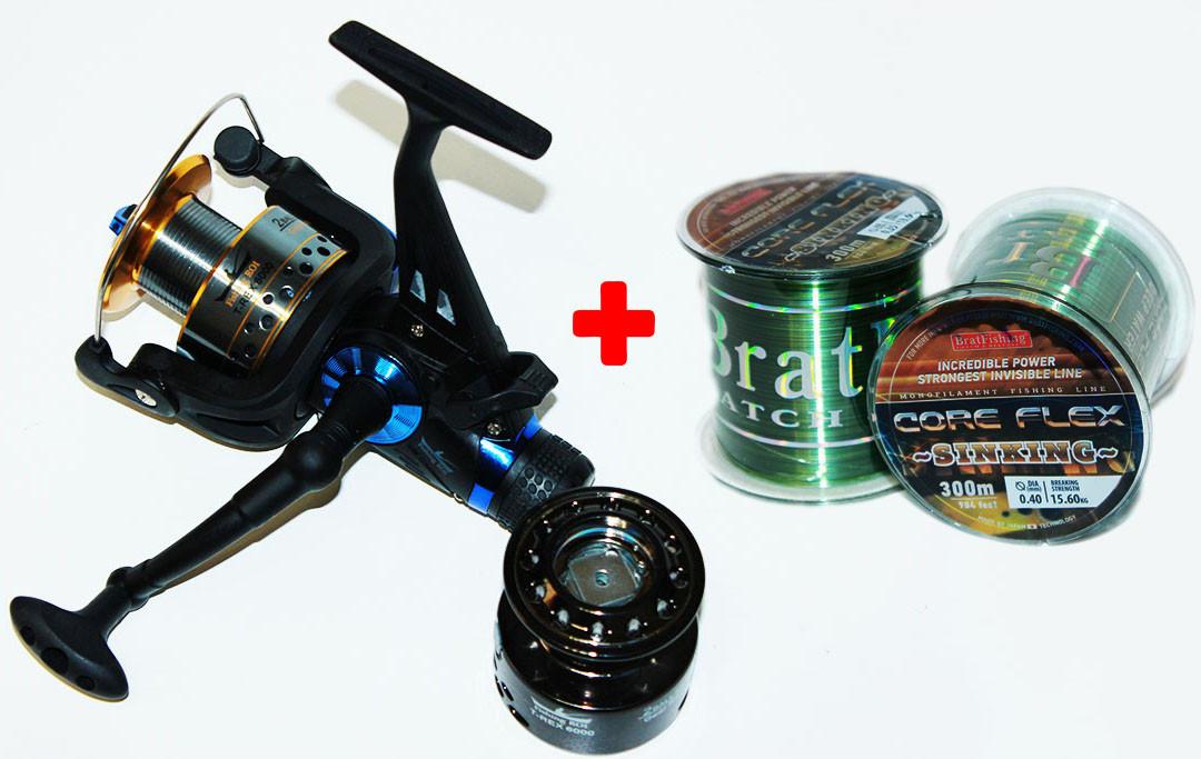 Катушка Fishing ROI T-REX 6000 с бейтраннером