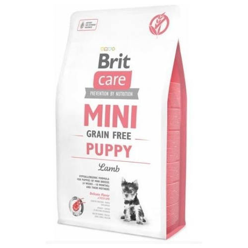 Сухой корм Brit Care GF Mini Puppy Lamb 7кг