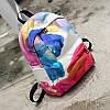 Школьный рюкзак с цветным принтом, фото 2