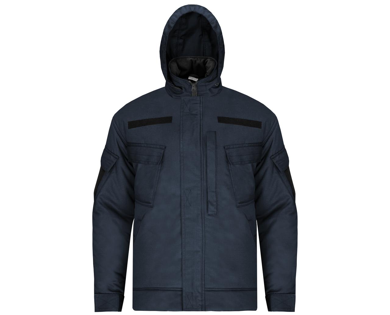 """Куртка (бушлат) зимовий """"Мілітарі"""" Темно-синій"""