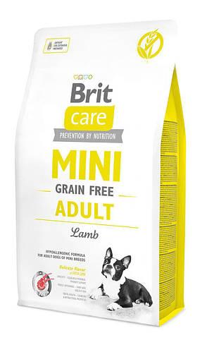 Сухой корм Brit Care GF Mini Adult Lamb 7кг
