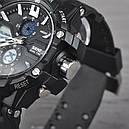 Часы Skmei Мод.0990, черный-белый, в металлическом боксе, фото 3