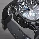 Часы Skmei Мод.0990, черный-белый, в металлическом боксе, фото 5