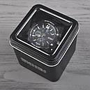 Часы Skmei Мод.0990, черный-белый, в металлическом боксе, фото 7