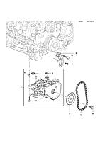 Натяжитель цепи привода масляного насоса GM 0646141 55573877 1,6 турбодизель OPEL Astra-J/K Insignia Meriva-B