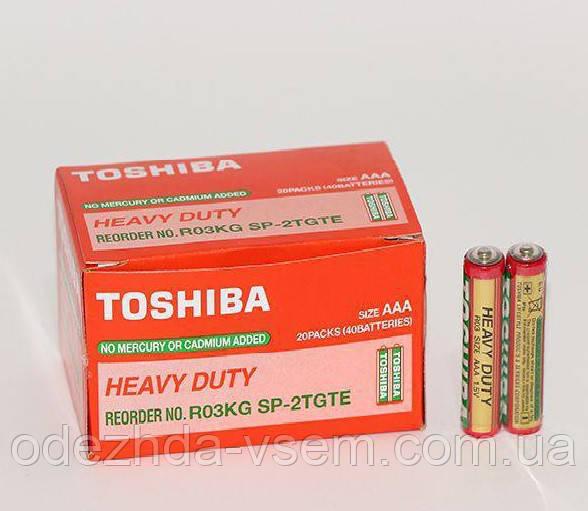 Батарейка Toshiba AAА