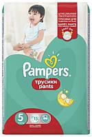 """Підгузки-трусики """"Pampers baby-dry pants"""" унісекс 5 (12-18 кг) 44 шт."""