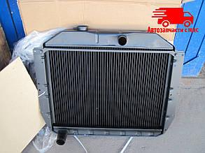 Радиатор водяного охлаждения ЗИЛ 130 (3-х рядный) медный (ДК). 130-1301010-С. Ціна з ПДВ.