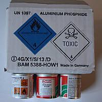 Фостоксин наилучшее средство борьбы с кротами и слепышами состав фосфид алюминия, упаковка 45 г 75 таблеток
