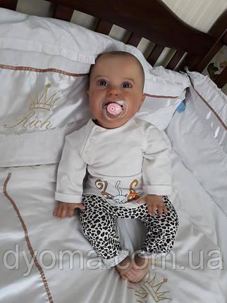 """Детский костюм """"Котики"""" для новорожденных, фото 2"""