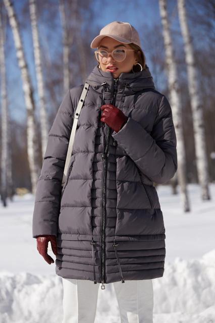 Стильное зимнее женское пальто Ариадна, 42-54