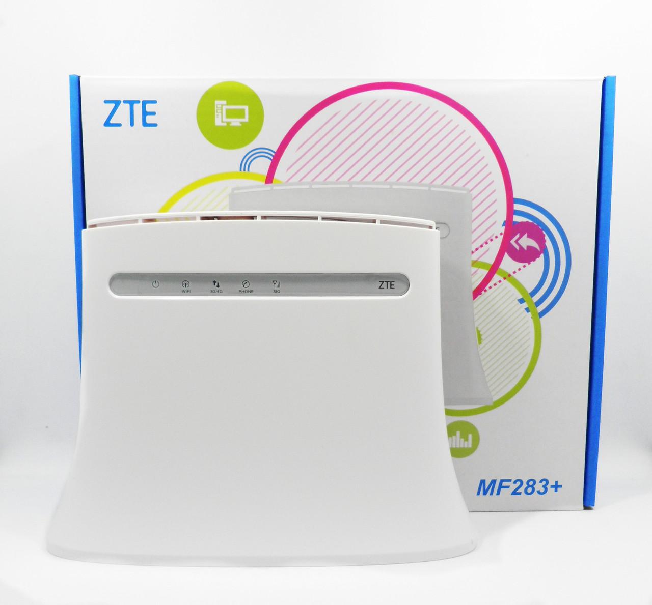 !УЦЕНКА! Wi-Fi роутер 3G/4G Маршрутизатор ZTE MF283+