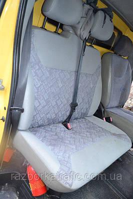 Сиденье пассажирское (двушка) на Renault Trafic, Opel Vivaro, Nissan Primastar