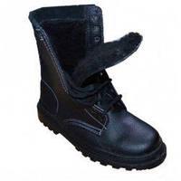 Ботинки с завышенными берцами Омон утепленные (19001)