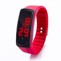 Спортивний силіконовий годинник-браслет LED / Спортивные силиконовые часы-браслет ЛЕД