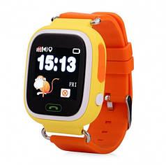 Детские умные смарт часы с GPS Smart Baby Watch Q90-PLUS Жёлтые