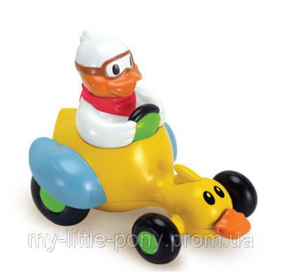 Игрушка-машинка Утка-гонщик BabyBaby