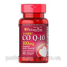 Кофермент Q-10, Puritan's Pride Co Q-10 100 mg 30 Softgels
