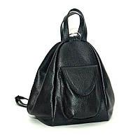 Кожаный женский рюкзак-трансформер модель Р04