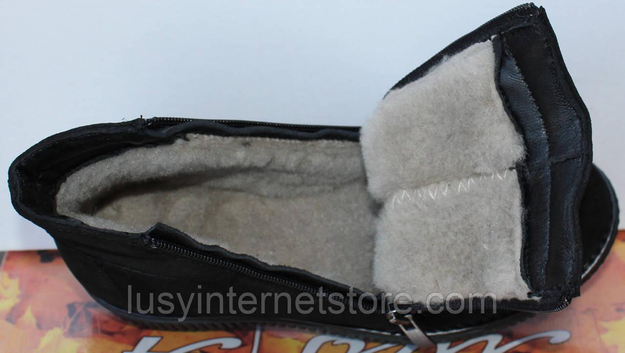 a453a2ab ... Ботинки женские зимние замшевые на низком ходу, зимняя женская обувь от  производителя модель МВ07-