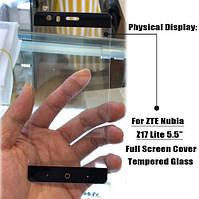 ZTE Nubia Z17 Lite защитное стекло черное.Оригинал.