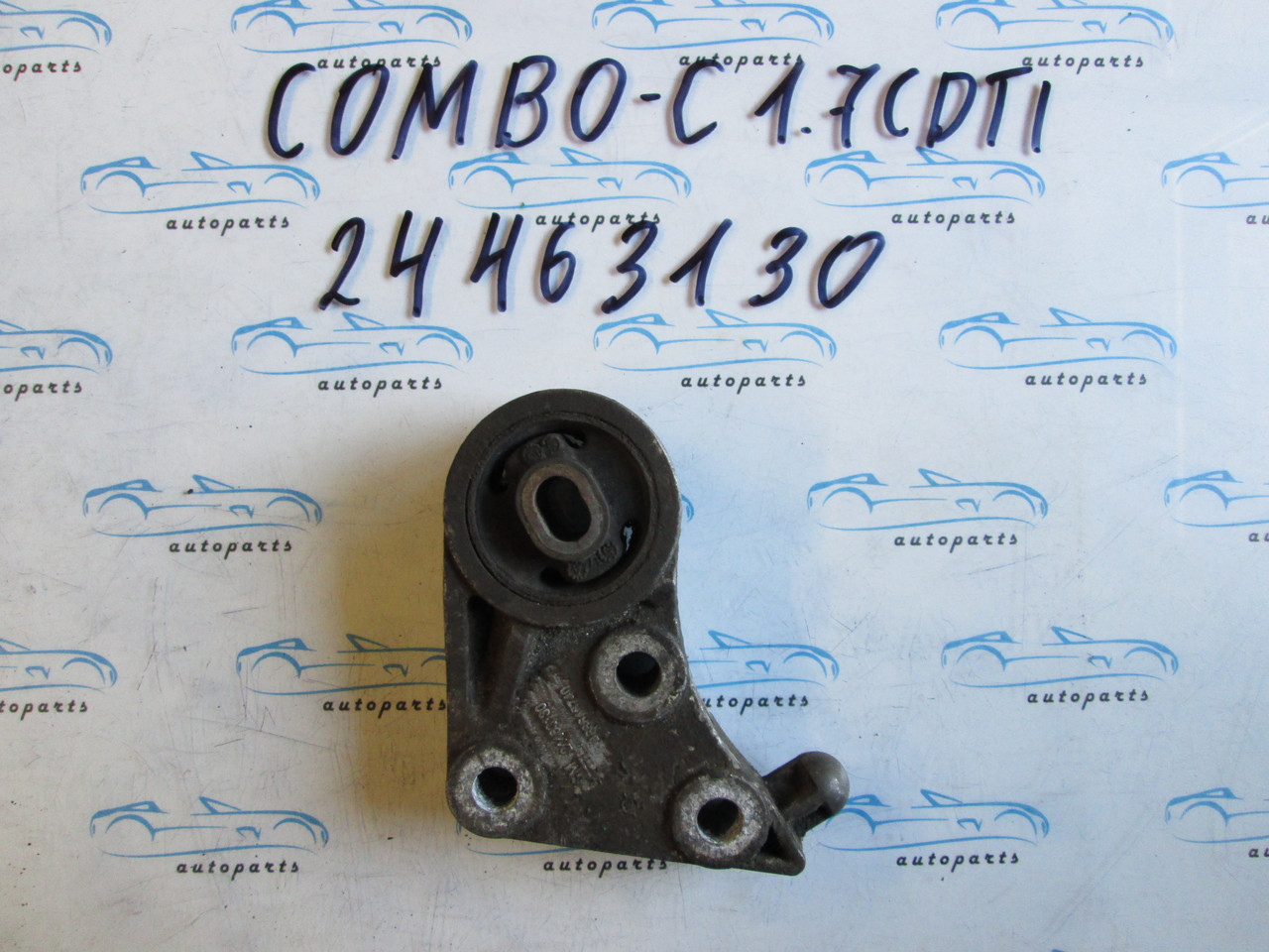 Подушка двигателя Комбо С, Combo c 1.7CDTI 24463130