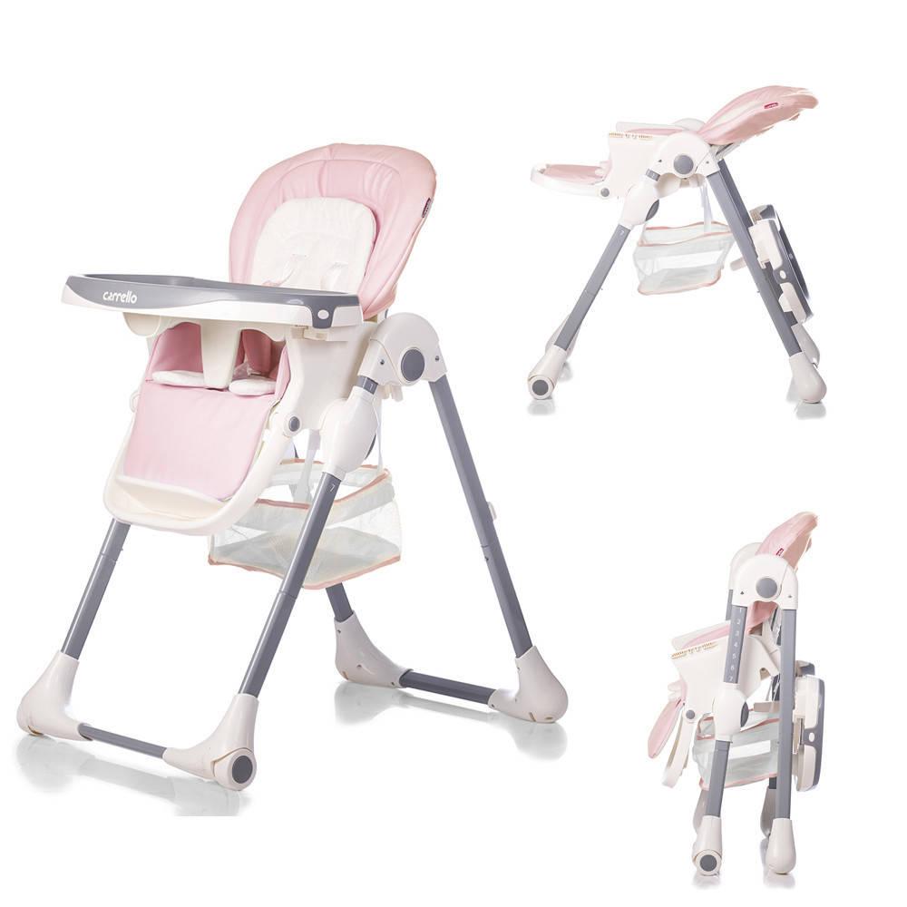 Стульчик для кормления CARRELLO Toffee  CRL-9502 Candy Pink ***