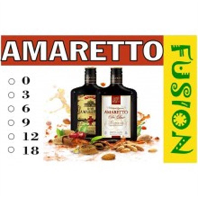 FUSION Жидкость для электронных сигарет. Тонизирующие вкусы. Amaretto (Амаретто), 6 мг