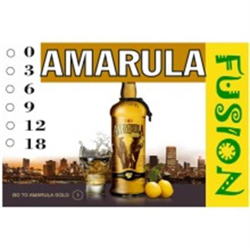 FUSION Жидкость для электронных сигарет. Тонизирующие вкусы. Amarula (Амарула), 0 мг