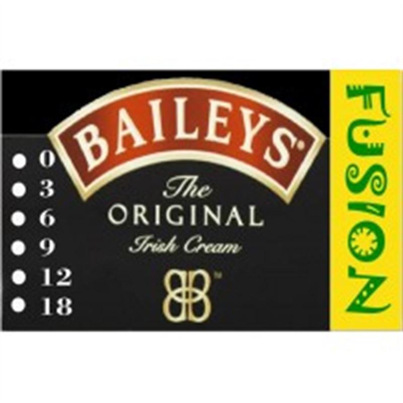 FUSION Жидкость для электронных сигарет. Тонизирующие вкусы. Baileys (Бэйлис), 6 мг