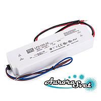 Led драйвер LPV-100-24 / 100-220AC-24S-190.0x52.0x37.0-LED DRIVER-IP67. Драйвер светодиода MEANWELL