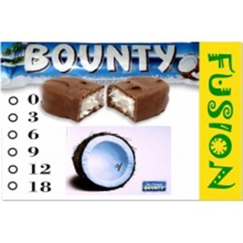 FUSION Жидкость для электронных сигарет. Тонизирующие вкусы. Bounty, 18 мг