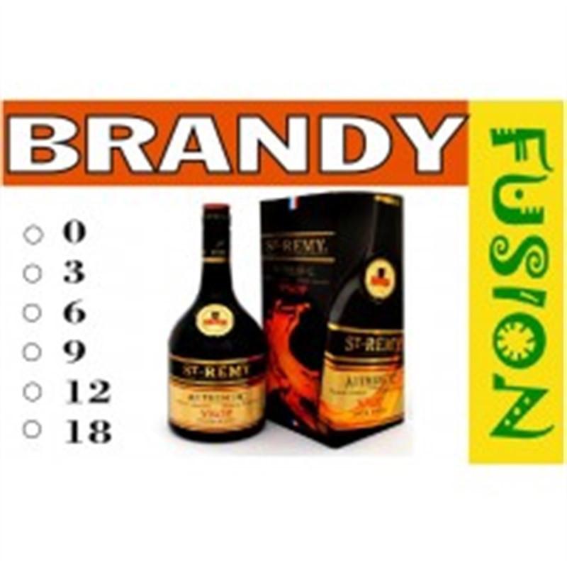 FUSION Жидкость для электронных сигарет. Тонизирующие вкусы. Brandy (Бренди), 6 мг