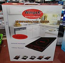 Инфракрасная электроплита WimpeX WX1322 (2000W), фото 2