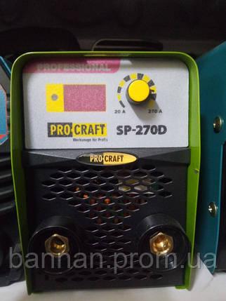 Сварочный инвертор Procraft SP-270D, фото 2