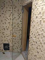 Дверь для саун и бань стеклянная