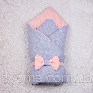 Демисезонный конверт-одеяло  Mini (персик), фото 2