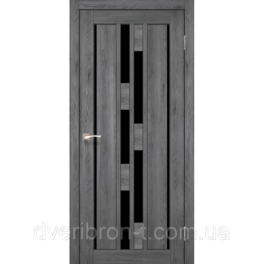 Двери Корфад venecia deluxe VND 05  Дуб браш, дуб марсала, эш-вайт, ясень белый.