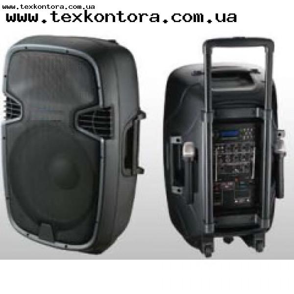 Акустика на аккумуляторе JB15RECHARG400+MP3/FM/Bluetooth+DC-DC INVERTOR