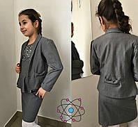 Пиджак в школу для девочки, фото 1