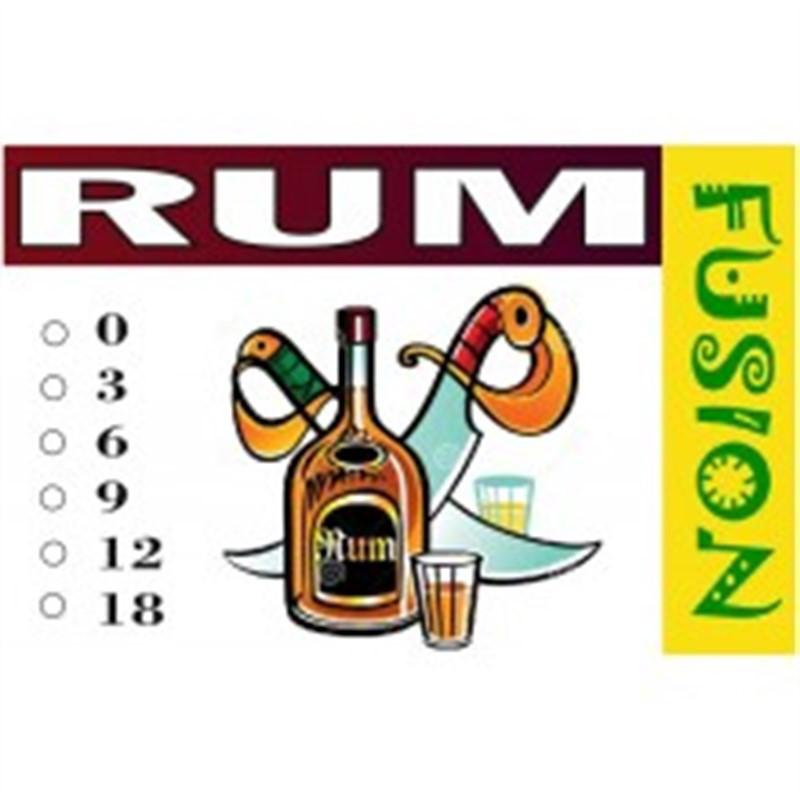 FUSION Жидкость для электронных сигарет. Тонизирующие вкусы. Rum (Ром), 0 мг