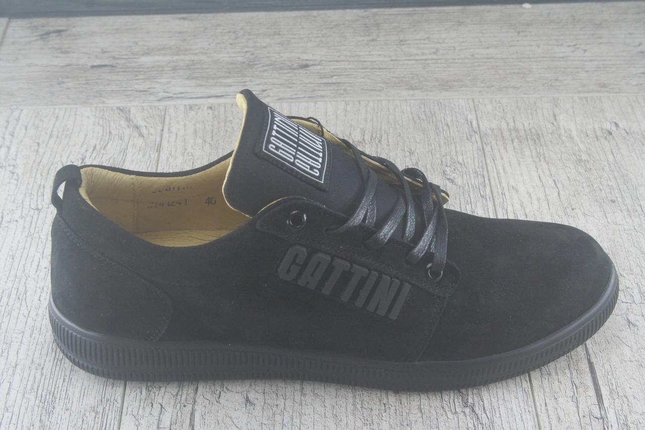 """Спортивные туфли, кеды  """"Gattini"""" обувь мужская, НАТУРАЛЬНАЯ ЗАМША, осеняя, повседневная"""