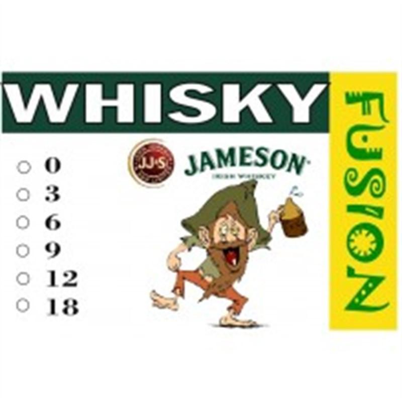 FUSION Жидкость для электронных сигарет. Тонизирующие вкусы. Whisky (Виски), 6 мг