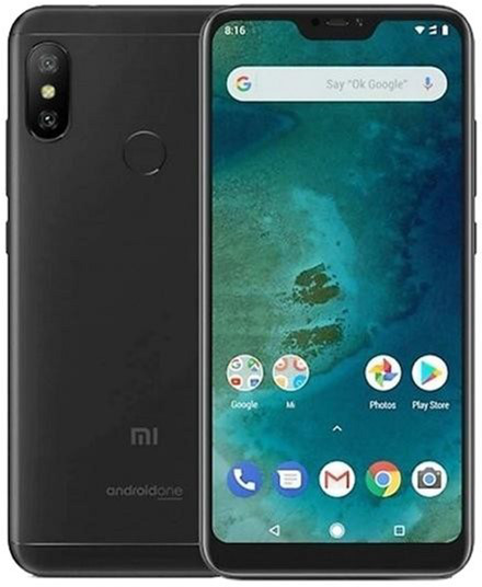 Смартфон Xiaomi Mi A2 Lite 4/64 (Black) Global Version