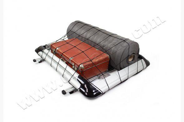 Багажник с поперечинами и сеткой (100см на 120см) Серый - Audi Q7 2015+ гг.