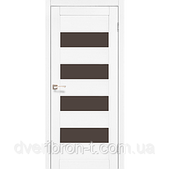 Двери Корфад piano deluxe PND 02  Дуб браш, дуб марсала, эш-вайт, ясень белый.
