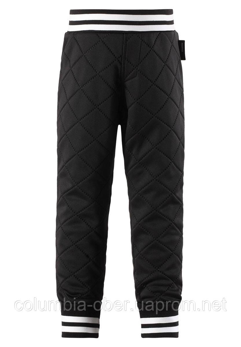 Демисезонные брюки для девочки Reima 526303-9990. Размер 92-140.