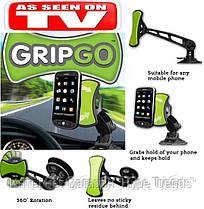 Универсальный автомобильный держатель-подставка для телефона. Holder GRIP GO. TV-SHOP. В Украине, в Одессе, фото 2